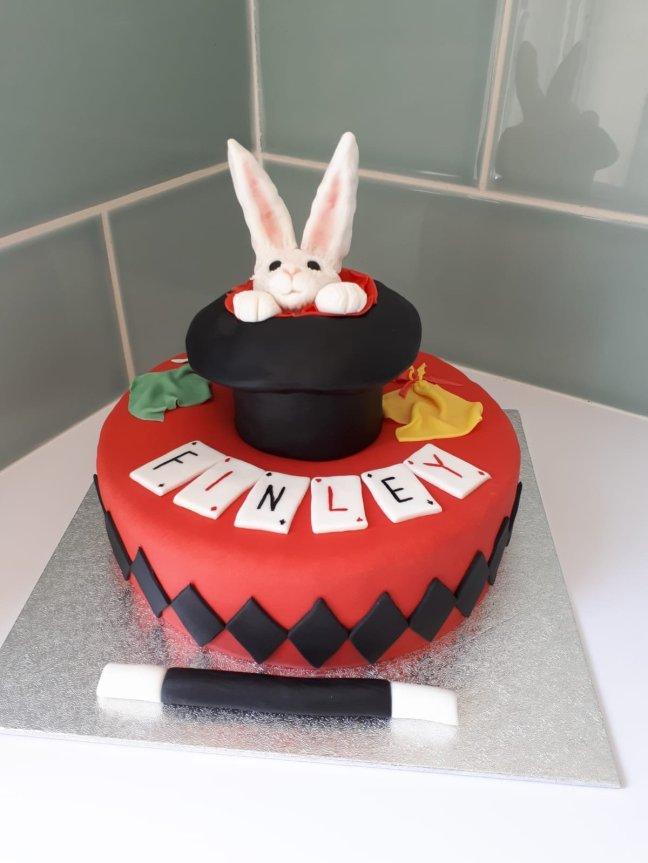 Astonishing Magic Birthday Cake Nikkibakescakes Org Funny Birthday Cards Online Kookostrdamsfinfo