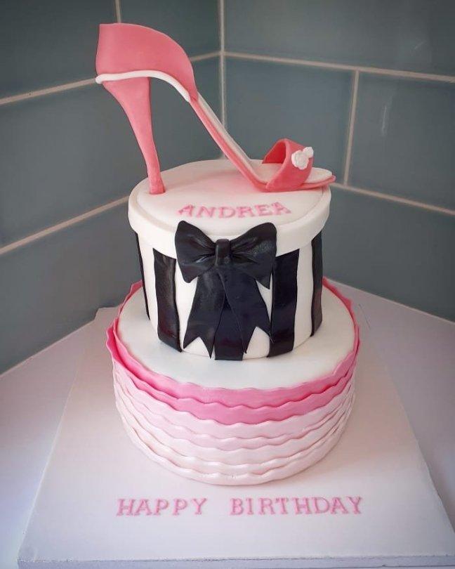 Incredible Stiletto Cake Nikkibakescakes Org Funny Birthday Cards Online Kookostrdamsfinfo